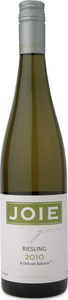 Joie Farm Riesling 2009, BC VQA Okanagan Valley Bottle