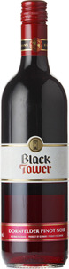 Black Tower Dornfelder Pinot Noir 2014, Qualitatswein Pfalz Bottle