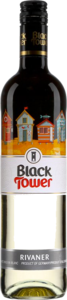Black Tower Qualitatswein Rivaner 2015, Rheinhessen Bottle