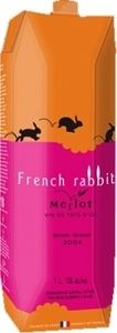 French Rabbit Merlot Carton 2013, 1000ml Bottle