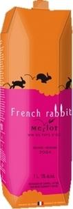 French Rabbit Merlot Carton 2013, 1000ml Bottle