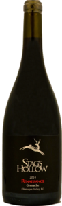 Stag's Hollow Renaissance Grenache 2014 Bottle