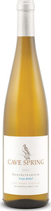 Cave Spring Estate Bottled Gewürztraminer 2013, Cave Spring Vineyard, VQA Beamsville Bench, Niagara Peninsula Bottle