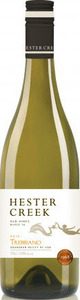 Hester Creek Trebbiano Old Vines Block 16 2015, BC VQA Okanagan Valley Bottle