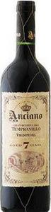 Anciano Gran Reserva Tempranillo 2007, Valdepenas  Bottle