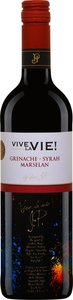 Vive La Vie Grenache Syrah Marselan 2014, Vin De France Bottle