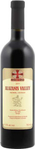Alazanis Valley Semi Sweet Red 2014, Kakheti Bottle