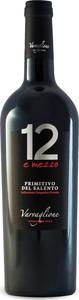 12 E Mezzo Primitivo Del Salento 2014, Igp Bottle