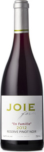 Joie Farm 'en Famille' Reserve Pinot Noir 2014, BC VQA Okanagan Valley Bottle