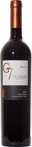 G7 The 7th Generation Reserva Merlot 2013, Loncomilla Valley Bottle
