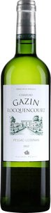 Château Gazin Rocquencourt Blanc 2012, Ac Pessac Léognan Bottle