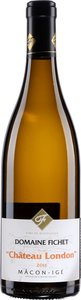 Domaine Fichet Mâcon Igé Château London Chardonnay 2014 Bottle