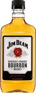 Jim Beam Kentucky Straight Bourbon (375ml) Bottle