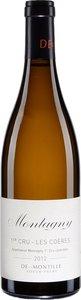 Deux Montille Soeur Frère Montagny Premier Cru Les Coères 2013 Bottle