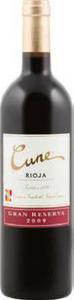 Cune Gran Reserva 2009, Doca Rioja Bottle