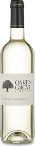 Oaken Grove Vineyard Bacchus Reserve 2014 Bottle