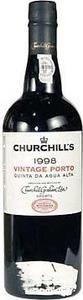 Churchill's Single Quinta Agua Alta Vintage Port (Opimian) 1998 (375ml) Bottle