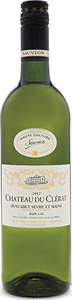 Chateau Du Cleray Muscadet Sevre Et Maine 2015 Bottle