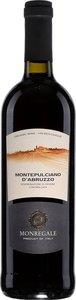 Monregale Montepulciano D'abruzzo 2014 Bottle