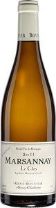 Domaine René Bouvier Marsannay Le Clos 2013 Bottle