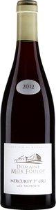 Domaine Meix Foulot Mercurey Premier Cru Les Saumonts 2012 Bottle