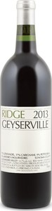Ridge Geyserville 2014, Alexander Valley, Sonoma County Bottle