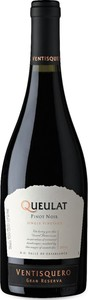 Ventisquero Queulat Gran Reserva Pinot Noir 2014, Single Vineyard, Casablanca Valley Bottle