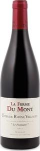 La Ferme Du Mont Le Ponnant Côtes Du Rhône Villages 2014 Bottle
