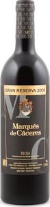 Marqués De Caceres Rioja Gran Reserva 2009 Bottle