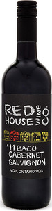 Red House Wine Co Baco Cabernet Sauvignon 2015, VQA Ontario Bottle