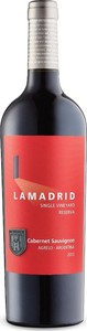 Lamadrid Single Vineyard Reserva Cabernet Sauvignon 2013, Argentina Bottle