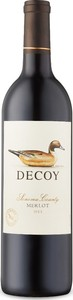 Decoy Merlot 2013, Sonoma County Bottle