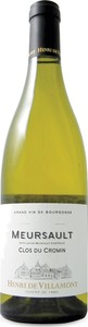 Henri De Villamont Clos Du Cromin Meursault 2013, Ac Bottle