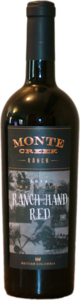 Monte Creek Ranch Hand Red Reserve 2014 Bottle