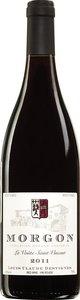 Louis Claude Desvignes Morgon La Voûte Saint Vincent 2014 Bottle