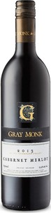 Gray Monk Cabernet/Merlot 2013, BC VQA Okanagan Valley Bottle