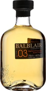 Balblair 2003 2003 (700ml) Bottle