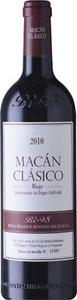 Bodegas Benjamin De Rothschild Vega Sicilia Macan Clasico Rioja 2012 Bottle