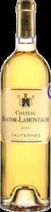 Château Bastor Lamontagne 2010, Sauternes (375ml) Bottle
