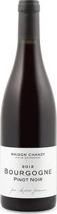 Domaine Chanzy Bourgogne Pinot Noir 2014 Bottle