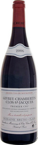 Domaine Bruno Clair Gevrey Chambertin Premier Cru Clos Saint Jacques 2012 Bottle