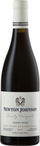 Newton Jonhnson Pinot Noir Family Vineyards 2015 Bottle