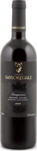 Sassoregale Sangiovese 2014, Igt Maremma Toscana Bottle