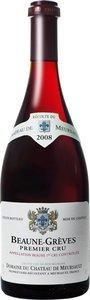Domaine Du Château De Meursault Beaune Premier Cru Les Grèves 2008 Bottle