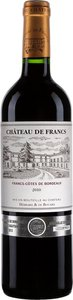 Château De Francs 2011 Bottle