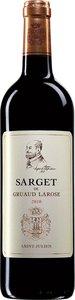 Sarget De Gruaud Larose 2012 Bottle