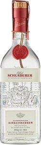 Alfred Schladerer Schwarzenwalder Kirschwasser Black Forest Cherry Brandy, Product Of Germany (350ml) Bottle