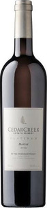 CedarCreek Platinum Merlot 2013, BC VQA Okanagan Valley Bottle
