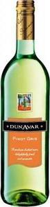 Dunavár Pinot Gris 2009 Bottle