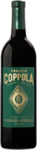 Francis Coppola Diamond Collection Green Label Syrah Shiraz 2014, California Bottle